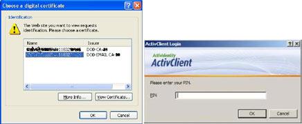 CAC-Card-Digital-Certificate-and-PIN-Number-Screens